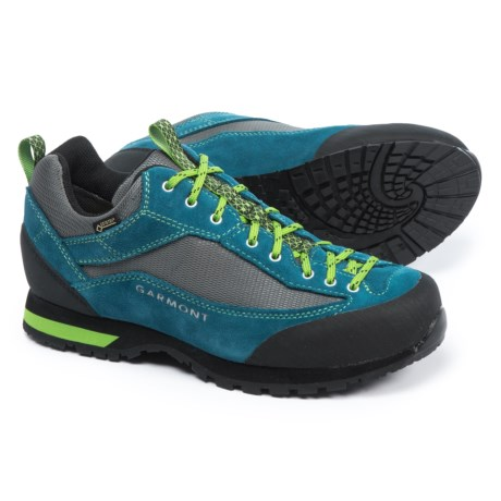 Garmont Sticky Weekend Gore-Tex® Hiking Shoes - Waterproof, Suede (For Men) in Night Blue/Green