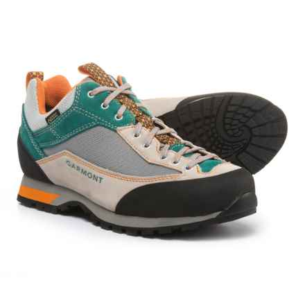 Garmont Sticky Weekend Gore-Tex® Hiking Shoes - Waterproof, Suede (For Women) in Light Grey/Teal Green - Closeouts