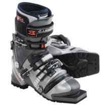 Garmont Syner-G Telemark Ski Boots - G-Fit Liner (For Women) in Silver - Closeouts