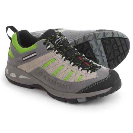 Garmont Trail Beast Hiking Shoes (For Men) in Grey/Green - Closeouts