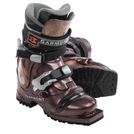 Garmont Veloce Telemark Ski Boots (For Women) in Anthracite - Closeouts