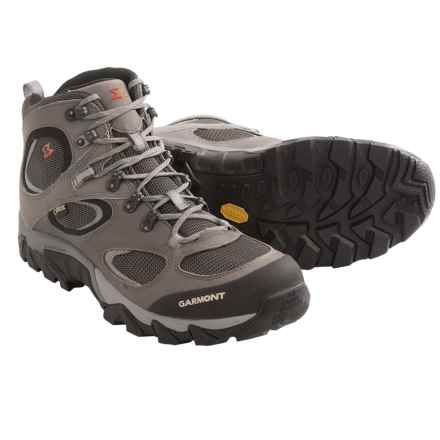 Garmont Zenith Mid Gore-Tex® Hiking Boots - Waterproof (For Men) in Anthracite - Closeouts