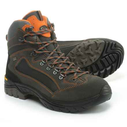 Garsport Madrid Hiking Boots - Waterproof (For Men) in Grey/Orange - Closeouts