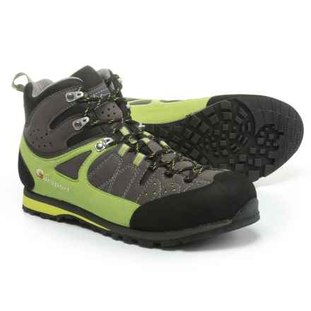 Garsport Ruwenzori Tex Hiking Boots - Waterproof (For Men) in Lime/Grey - Closeouts