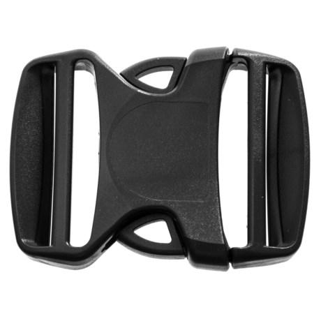 "Gear Aid Dual Adjust Buckle - 2"" in Black"