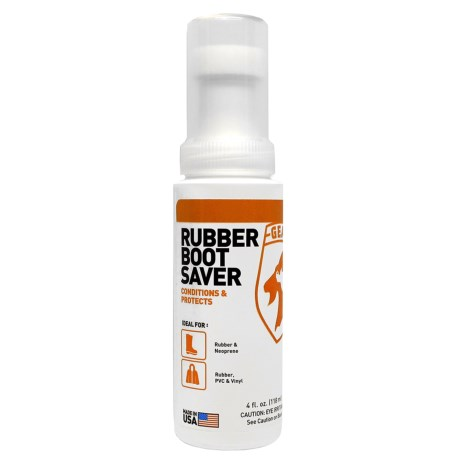 Gear Aid Rubber Boot Saver - 4 oz. in See Photo