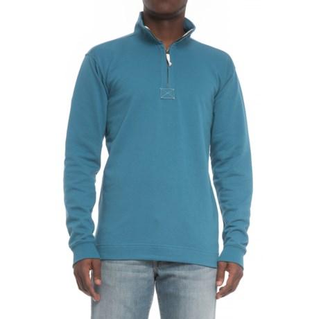Gear For Sports Weekend Classics Shirt - Zip Neck, Long Sleeve (For Men) in Skyline Blue
