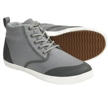 Generic Surplus Argus Boots - Canvas Lace-Ups (For Men) in Grey - Closeouts