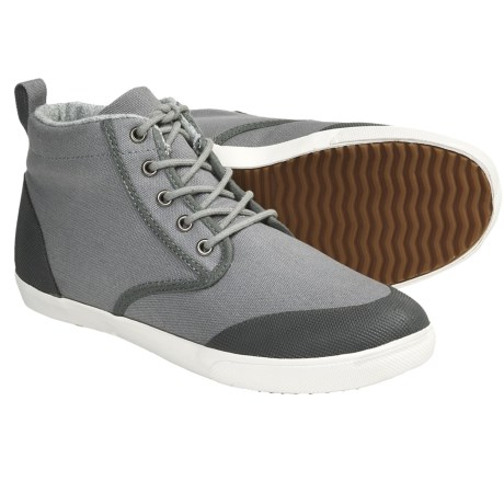 Generic Surplus Argus Boots - Canvas Lace-Ups (For Men) in Grey