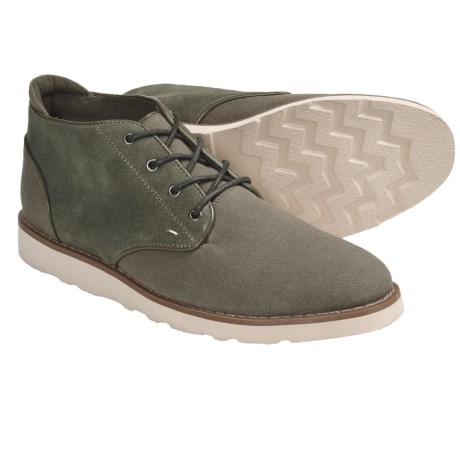 Generic Surplus Dom Suede Shoes - Lace-Ups (For Men) in Green