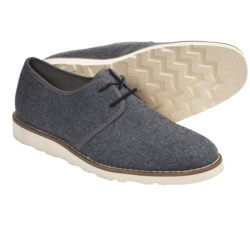Generic Surplus Klein Wool Shoes - Lace-Ups (For Men) in Charcoal Grey