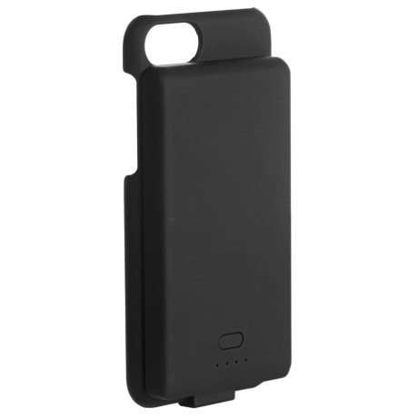 Genesis iPhone® 6/7 Smart Case with Detachable Magnetic Battery in Black