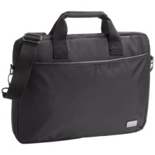 Genius Pack City Commuter Laptop Bag in Black - Closeouts