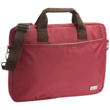 Genius Pack City Commuter Laptop Bag in Red - Closeouts