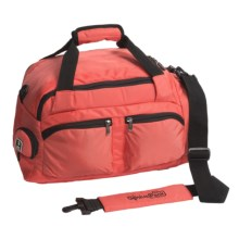 Genius Pack Overnight True Sport Duffel Bag in Coral Red - Closeouts