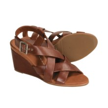 Gentle Souls B. Gabe Sandals - Leather (For Women) in Cigar - Closeouts