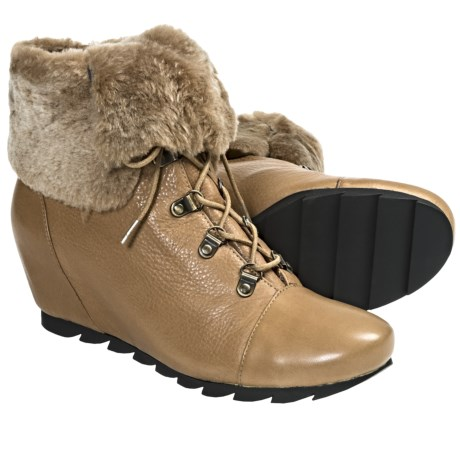 Gentle Souls Barnesicle Boots - Leather (For Women) in Camel