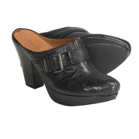 Gentle Souls by Kenneth Cole Ophelia Clogs - Leather, Open Back (For Women) in Cigar
