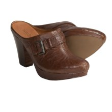 Gentle Souls by Kenneth Cole Ophelia Clogs - Leather, Open Back (For Women) in Cigar - Closeouts
