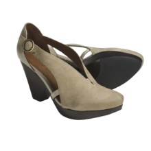 Gentle Souls by Kenneth Cole Optimistic Shoes - Leather (For Women) in Stone - Closeouts