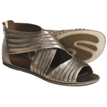 Gentle Souls Day Break Sandals - Leather (For Women) in Pewter - Closeouts