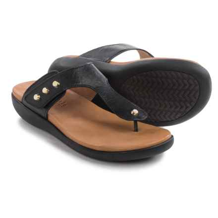 Gentle Souls Galaxy Sandals - Leather (For Women) in Black - Closeouts