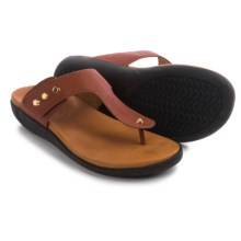 Gentle Souls Galaxy Sandals - Leather (For Women) in Cognac - Closeouts