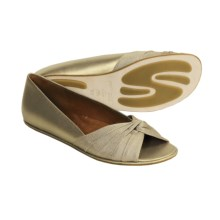 Gentle Souls Heart Breaker Shoes - Leather, Flats (For Women) in Champagne - Closeouts