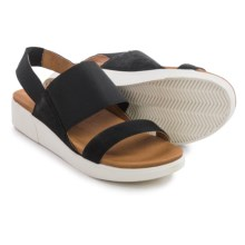 Gentle Souls Lansbury Sling-Back Sandals (For Women) in Black - Closeouts