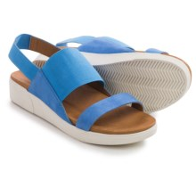 Gentle Souls Lansbury Sling-Back Sandals (For Women) in Bright Blue - Closeouts