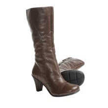 Gentle Souls O When Boots - Leather (For Women) in Concrete - Closeouts