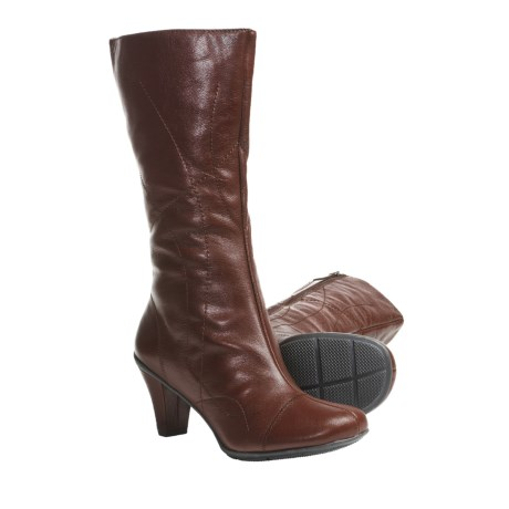 Gentle Souls O When Boots - Leather (For Women) in Rust