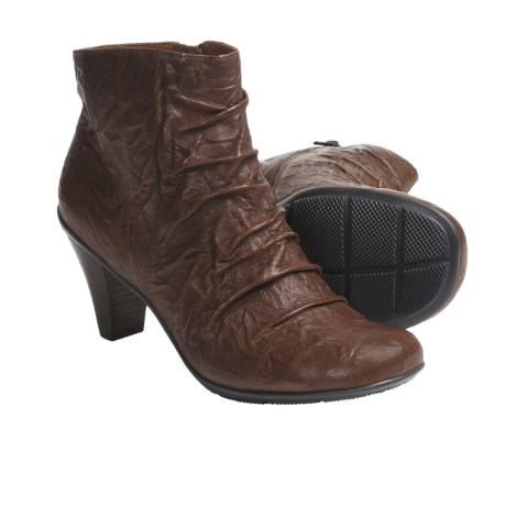 Gentle Souls Osanna Ankle Boots - Leather (For Women) in Cigaro
