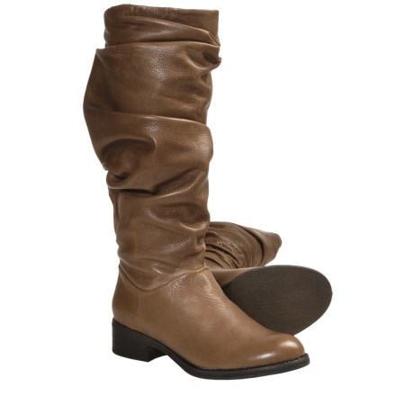 Gentle Souls Podential Boots - Leather (For Women) in Taupe
