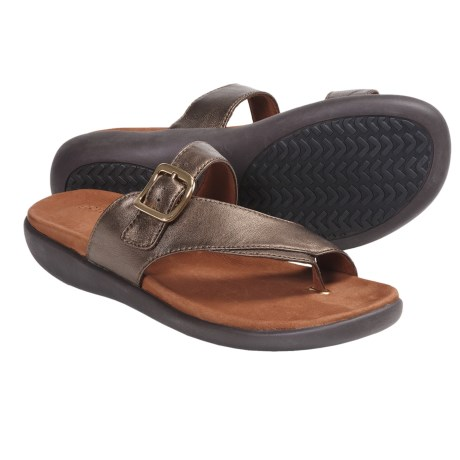 Gentle Souls Seagol Sandals (For Women) in Bronze