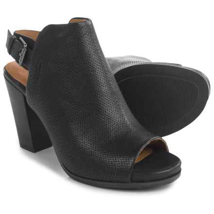 Gentle Souls Selga Shoes - Leather (For Women) in Black - Closeouts