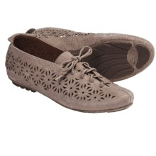 Gentle Souls Sol Zest Oxford Shoes - Laser Cut (For Women) in Taupe - Closeouts