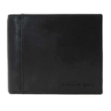 Geoffrey Beene Passcase Wallet - Leather in Black - Closeouts