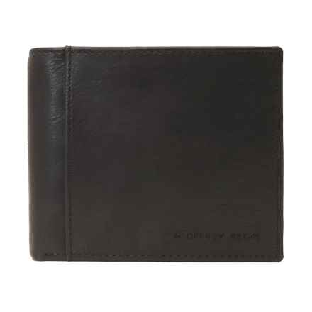 Geoffrey Beene Passcase Wallet - Leather in Brown - Closeouts