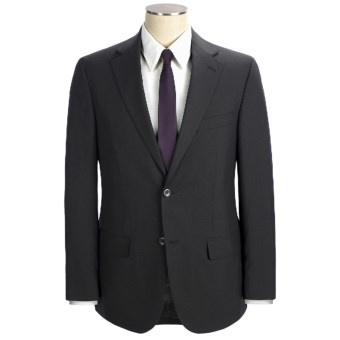 Geoffrey Beene Solid Suit - Wool (For Men) in Black
