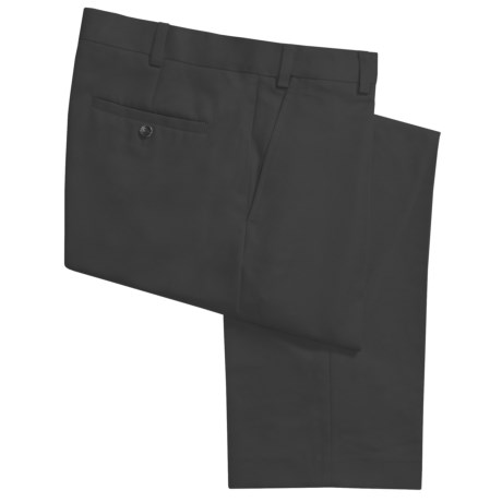 Geoffrey Beene Sorbtek Pants - Wrinkle Resistant, Flat Front (For Men) in Black