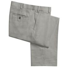 Geoffrey Beene Sorbtek Pants - Wrinkle Resistant, Flat Front (For Men) in Light Olive - Closeouts