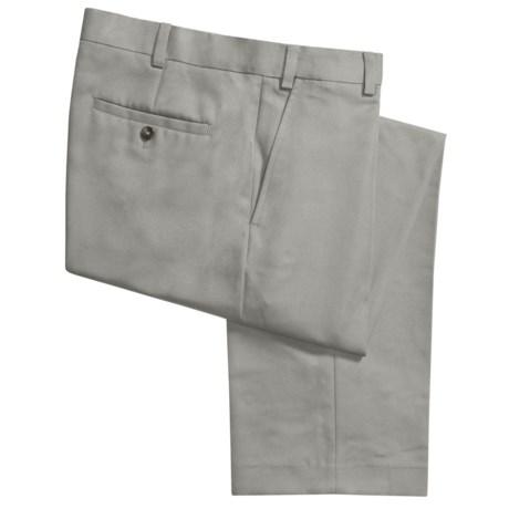 Geoffrey Beene Sorbtek Pants - Wrinkle Resistant, Flat Front (For Men) in Light Olive