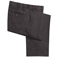 Geoffrey Beene Sorbtek Pants - Wrinkle Resistant, Flat Front (For Men) in Slate - Closeouts