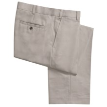 Geoffrey Beene Sorbtek Pants - Wrinkle Resistant, Flat Front (For Men) in Stone - Closeouts