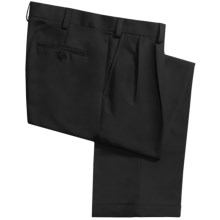 Geoffrey Beene Sorbtek Pants - Wrinkle Resistant, Pleated (For Men) in Black - Closeouts