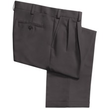 Geoffrey Beene Sorbtek Pants - Wrinkle Resistant, Pleated (For Men) in Slate - Closeouts