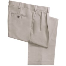 Geoffrey Beene Sorbtek Pants - Wrinkle Resistant, Pleated (For Men) in Stone - Closeouts