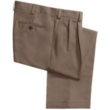 Geoffrey Beene Sorbtek Pants - Wrinkle Resistant, Pleated (For Men) in Taupe - Closeouts