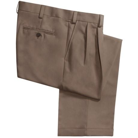 Geoffrey Beene Sorbtek Pants - Wrinkle Resistant, Pleated (For Men) in Taupe